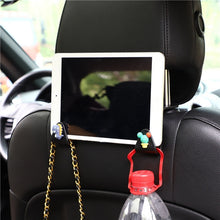 Load image into Gallery viewer, Cartoon Cute Car Seat Hook Hanger Holder Auto Interior Purse Cloth Bag Hanger Organizer Storage Decoration