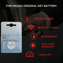 Load image into Gallery viewer, Genuine Lithium Coin Cell Battery For Mazda Car Key Fob Remote Replacement