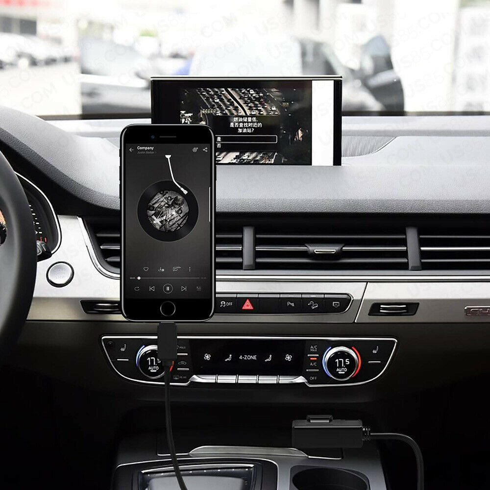 6ft For Audi VW AMI Adapter for iPhone Lightning Charging & AUX Cable MMI MEDIA Music Interface - US85.COM