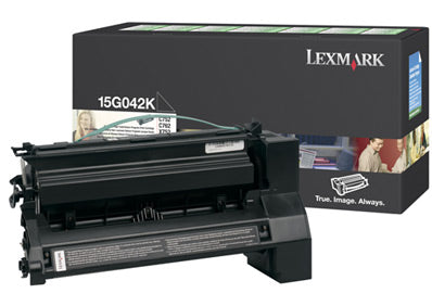 15G042K BLACK (PREBATE) TONER YIELD 15,000 PAGES FOR C752, 760, 762 | Afterpay with Oxipay
