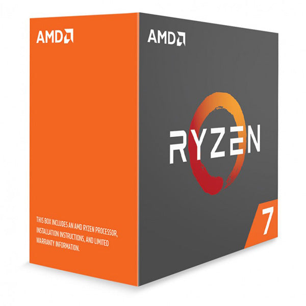 AMD Ryzen 7 1800X CPU 8 Core Unlocked 3.6GHz Base Speed with Turbo Speed 4GHz AM4 95w 16MB L3 cache Boxed 3 Years Warranty - No Fan | Afterpay with Oxipay