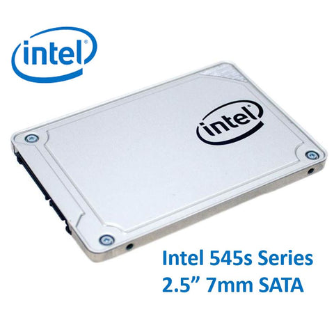 Intel 545s Series 2.5' 512GB SSD SATA3 6Gbps 550/500MB/s 7mm TCL 3D NAND 75K/85K IOPS 1.6 Million Hours MTBF Solid State Drive 5yrs Wty ~HBI-540-480GB