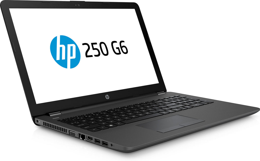 HP 250 G6 - Core i3-6006U / 15.6' HD LED / 500GB HDD/ WLAN BT Combo/ 4GB DDR3L / Windows 10 Home 64 / DVDRW / 1YR