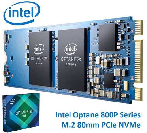 Intel Optane SSD 800P M.2 80mm 118GB 3D XPoint PCIe NVMe 1450/640 MB/s 250K/145K IOPS 1.7 DWPD 1.6 Million Hrs  MTBF Solid State Drive 5yrs Wty ~120GB | Afterpay with Oxipay