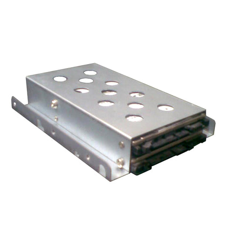 1 x 3.5' to 2 x 2.5' HDD/SSD Tray Converter Silver