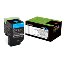 808C CYAN RETURN TONER CARTRIDGE, 1K, CX310/410/510 | Afterpay with Oxipay