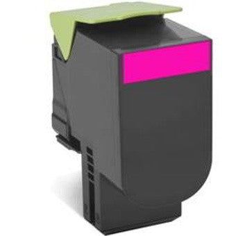 808M MAGENTA RETURN TONER CARTRIDGE, 1K, CX310/410/510