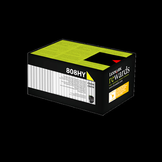 808HYE YELLOW HIGH YIELD CORPORATE TONER CARTRIDGE 3K, CX410/CX510 | Afterpay with Oxipay