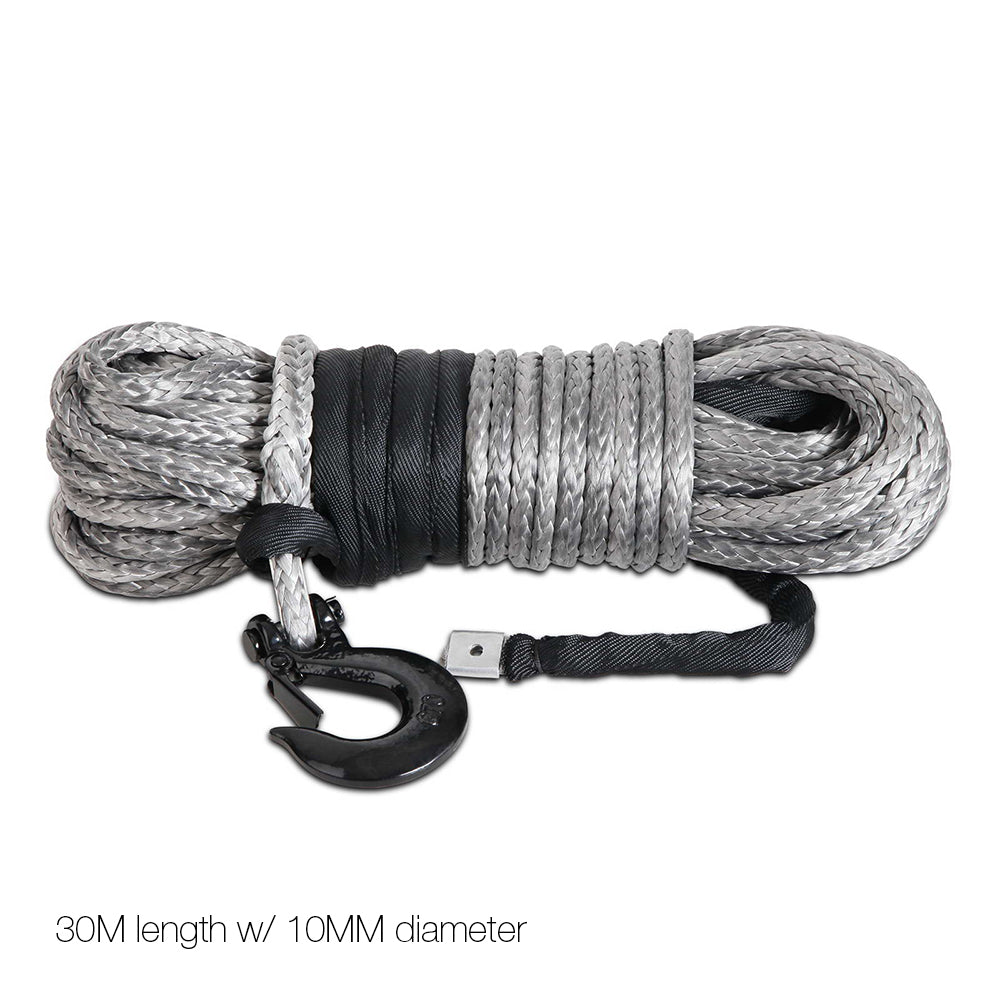 10mm x 30m Synthetic Cat Tow Recovery Cable