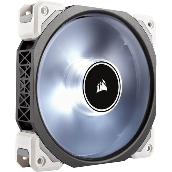 Corsair ML120 Pro LED, White, 120mm Premium Magnetic Levitation Fan - COMPURIG TECH