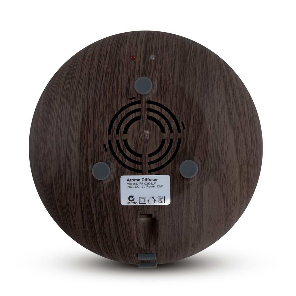 160ml 4-in-1 Aroma Diffuser - Dark Wood