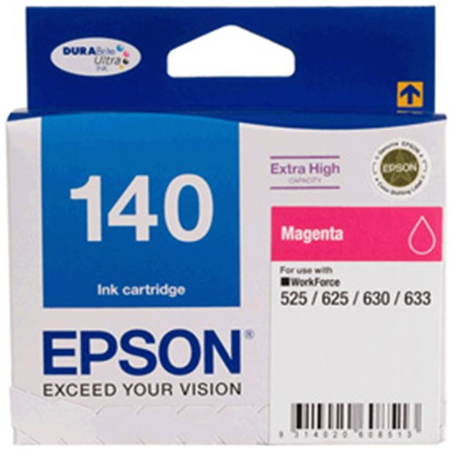 140 EXTRAHIGH CAPACITY MAGENTA INK CART WORKFORCE 525,545,60, 625, 630, 633, 645, 7010,7510 | Afterpay with Oxipay