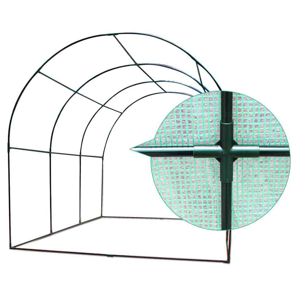 3x2x2M Green House Green Cover