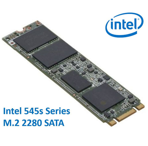 Intel 545s Series M.2 2280 128GB SSD SATA3 6Gbps 550/500MB/s TCL 3D NAND 75K/85K IOPS 1.6 Million Hours MTBF SFF Solid State Drive 5yrs Wty | Afterpay with Oxipay