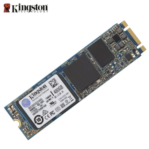 Kingston G2 480GB M.2 2280 SSD SATA 6Gbps 550/520MB/s 90,000/85,000 IOPS 1 million hours MTBF SFF Solid State Drive | Afterpay with Oxipay