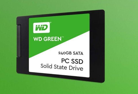 Western Digital 240GB 2.5' Green 3D NAND SSD 7MM, 540/430 R/W, SATA 6GB. | Afterpay with Oxipay