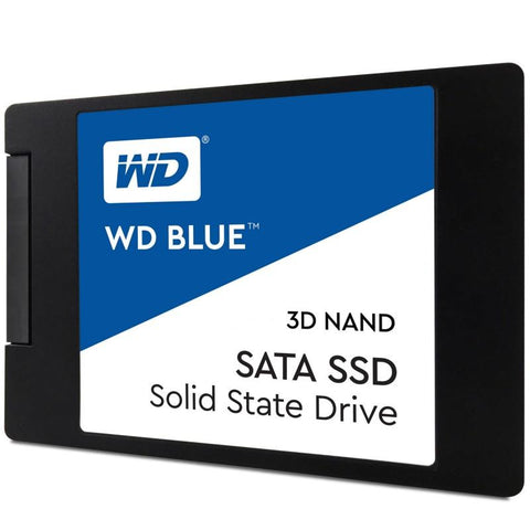 Western Digital 500GB 2.5' Blue 3D NAND SSD 7MM 550/530 R/W, SATA 6GB. | Afterpay with Oxipay