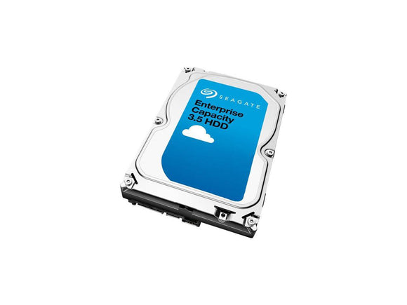 Seagate 4TB Enterprise Capacity 3.5 HDD, SAS 12GB/s, 7200RPM, 128MB, Engineered for 24x7 Workloads - COMPURIG TECH