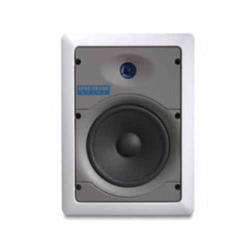 "6.5"" IN-WALL SPEAKER PAIR 60W @ 8OHM LEVITON SPEC GRADE SOUND 