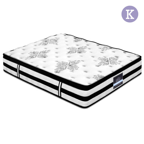 King Size 34cm Thick Foam Mattress - Buy Now & Pay Later - Afterpay with ZipPay or Oxipay - Compurig