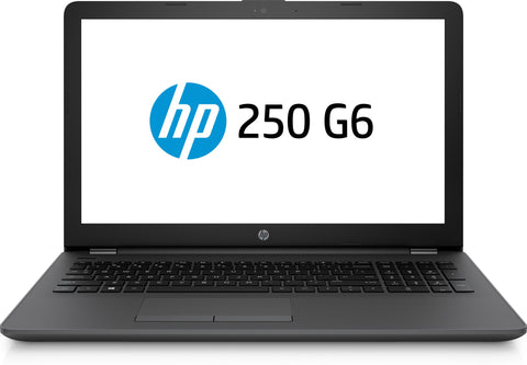 HP 250 G6 Notebook, Intel Celeron N3060, 4GB, 500GB HDD, 15.6 HD', WLAN, BT, Windows 10 Home, 1 Year Warranty