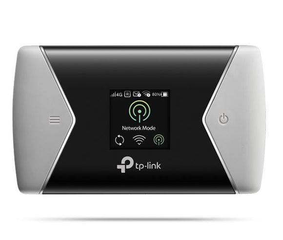 TP-Link M7450 LTE-Advanced Mobile Wi-Fi 4G 300Mbps DL 50Mbps UL 2.4GHz & 5GHz 802.11abgn micro USB micro SIM micro SD slot 32GB 3000mAh 10hr 10 device