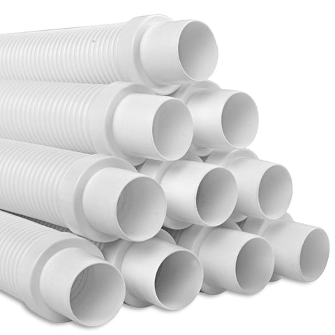 1 x 10m Durable Pool Cleaner Hose - White