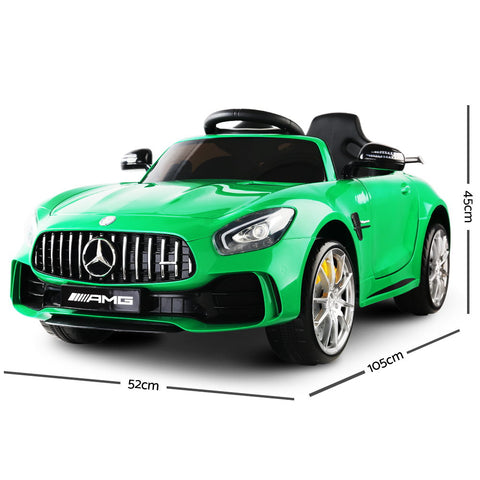 Kid's Ride on Mercedes-AMG GT R Green