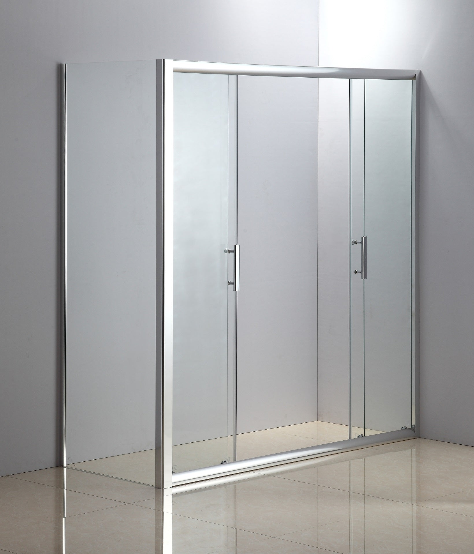 1700 X 700 Sliding Door Safety Glass Shower Screen By Della