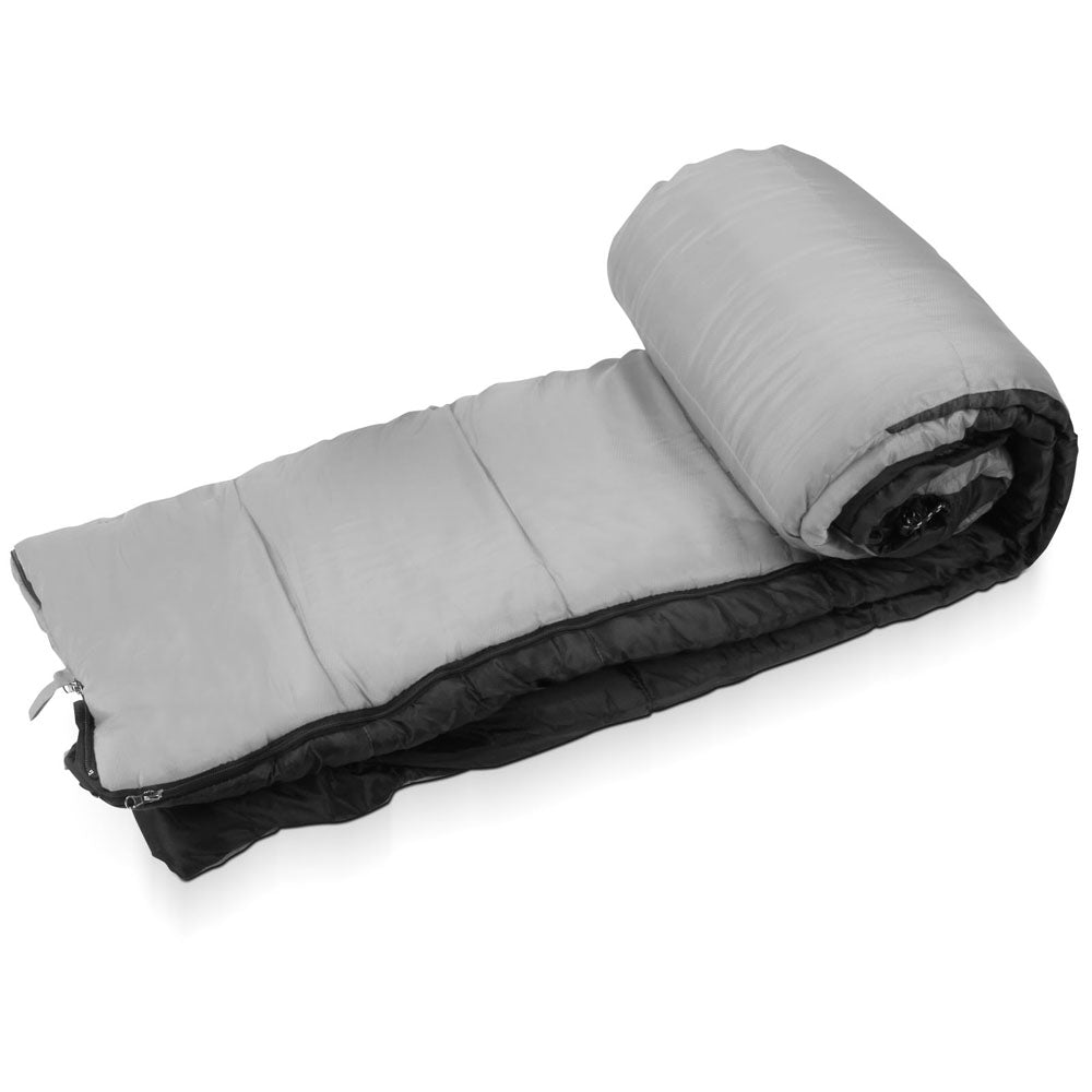 Single Thermal Sleeping Bags - Grey & Black