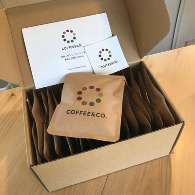【GIFT】ドリップバッグ ギフト 10個or20個セット(COFFEE&CO. ロゴ&お好きなコーヒー豆)