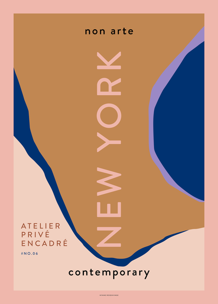 "Non Arte Poster ""New York"""