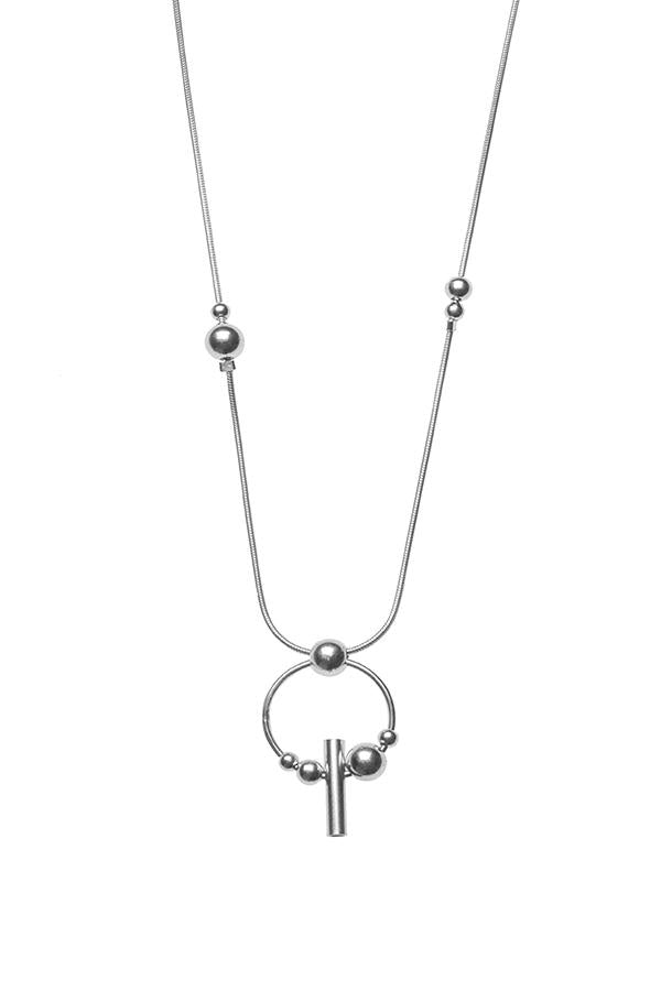 Sterling silver necklace by RBCCA KSTR