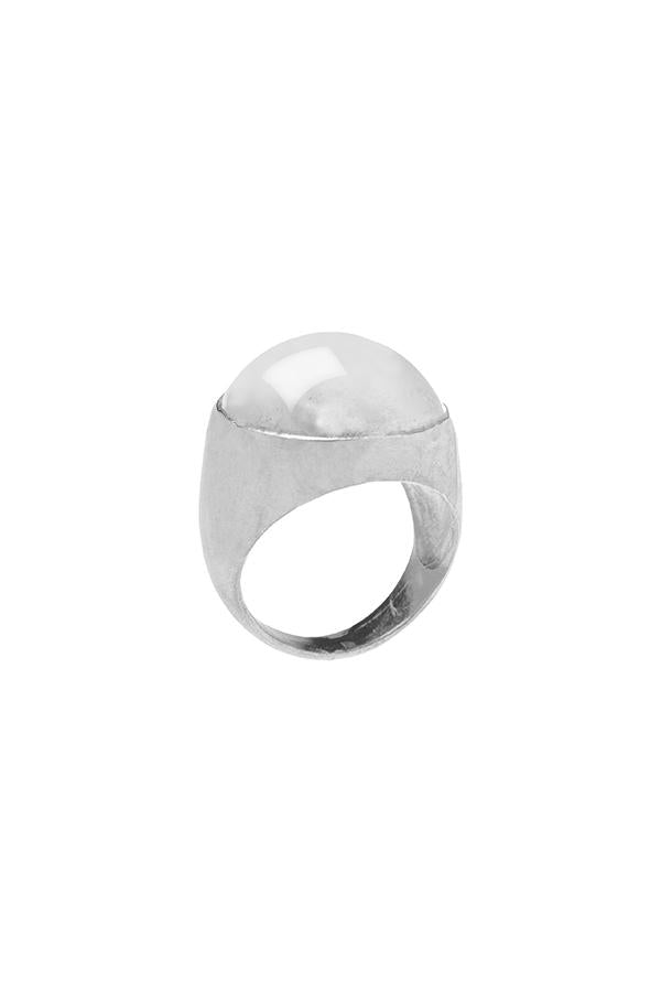 Sterling silver dome ring by RBCCA KSTR