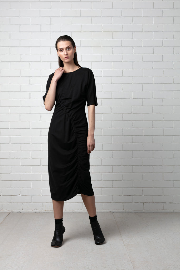 Sakura Dress - Black
