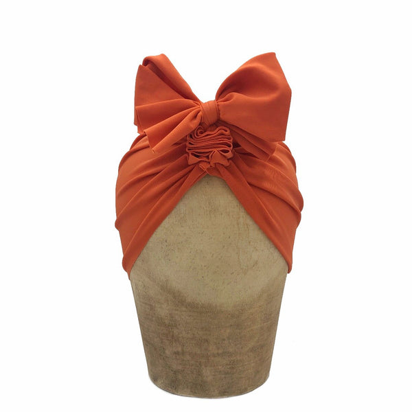 Fini. Headwrap Burnt Orange