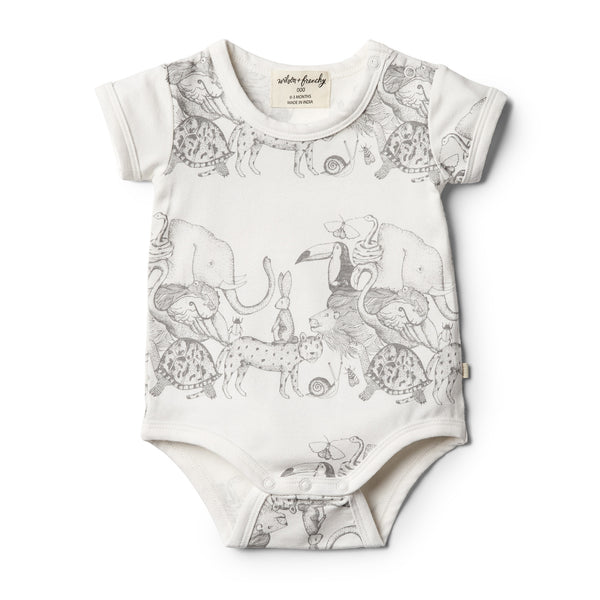 Wilson and Frenchy Bodysuit- Organic Animalia