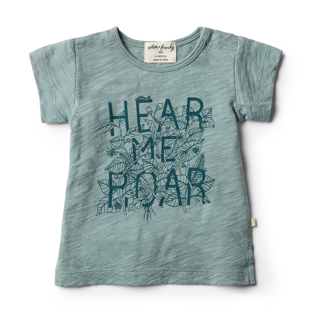 Wilson and Frenchy - Hear me Roar Tee