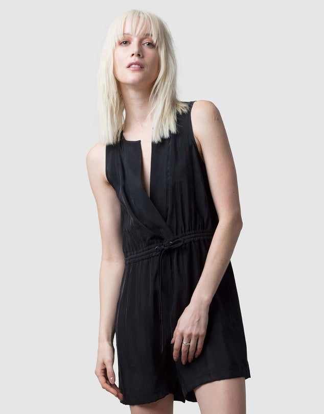 Kayoko Playsuit - Black