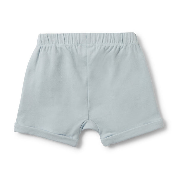 Wilson and Frenchy Slouch Pocket Powder Blue Shorts