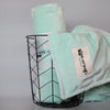 Luxury Minky Blanket - Mint Green
