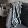 Luxury Minky Blanket - Grey