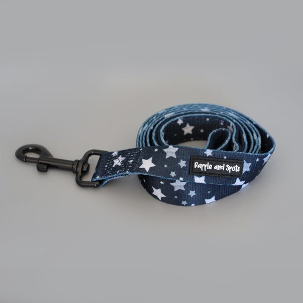 star print lead leash