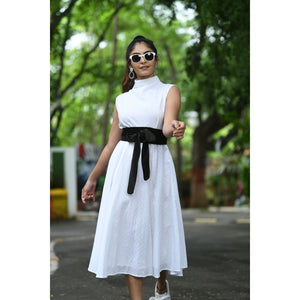 Turtle Neck Dress By Sayuri