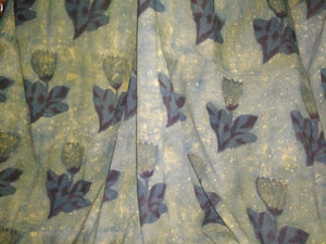 Sea Green Ajrakh Fabric