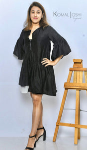 Black Mini Dress By Sayuri.