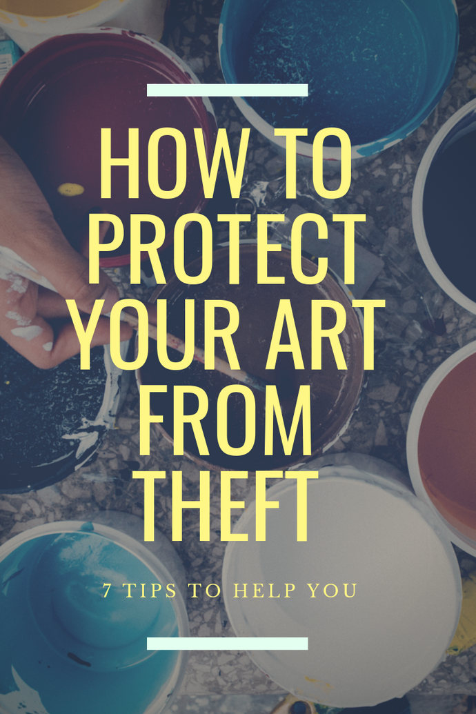 How To Protect Your Art on Instagram with 7 Simple Tips