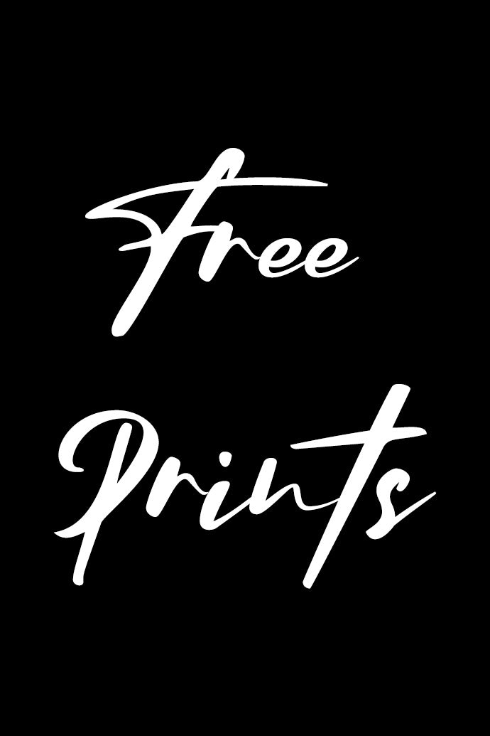 Free Prints for Self Isolation