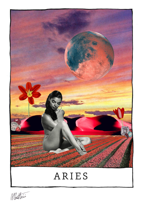 Aries - Madbutt | Australian Collage Artist & Fine Art