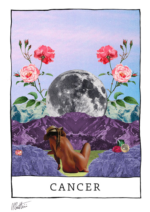 Cancer - Madbutt | Australian Collage Artist & Fine Art